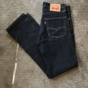 Levi's Jeans - Levi's 513 men's dark denim 31/32